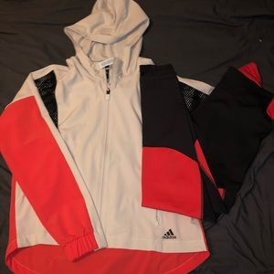 Adidas 2 piece athletic outfit